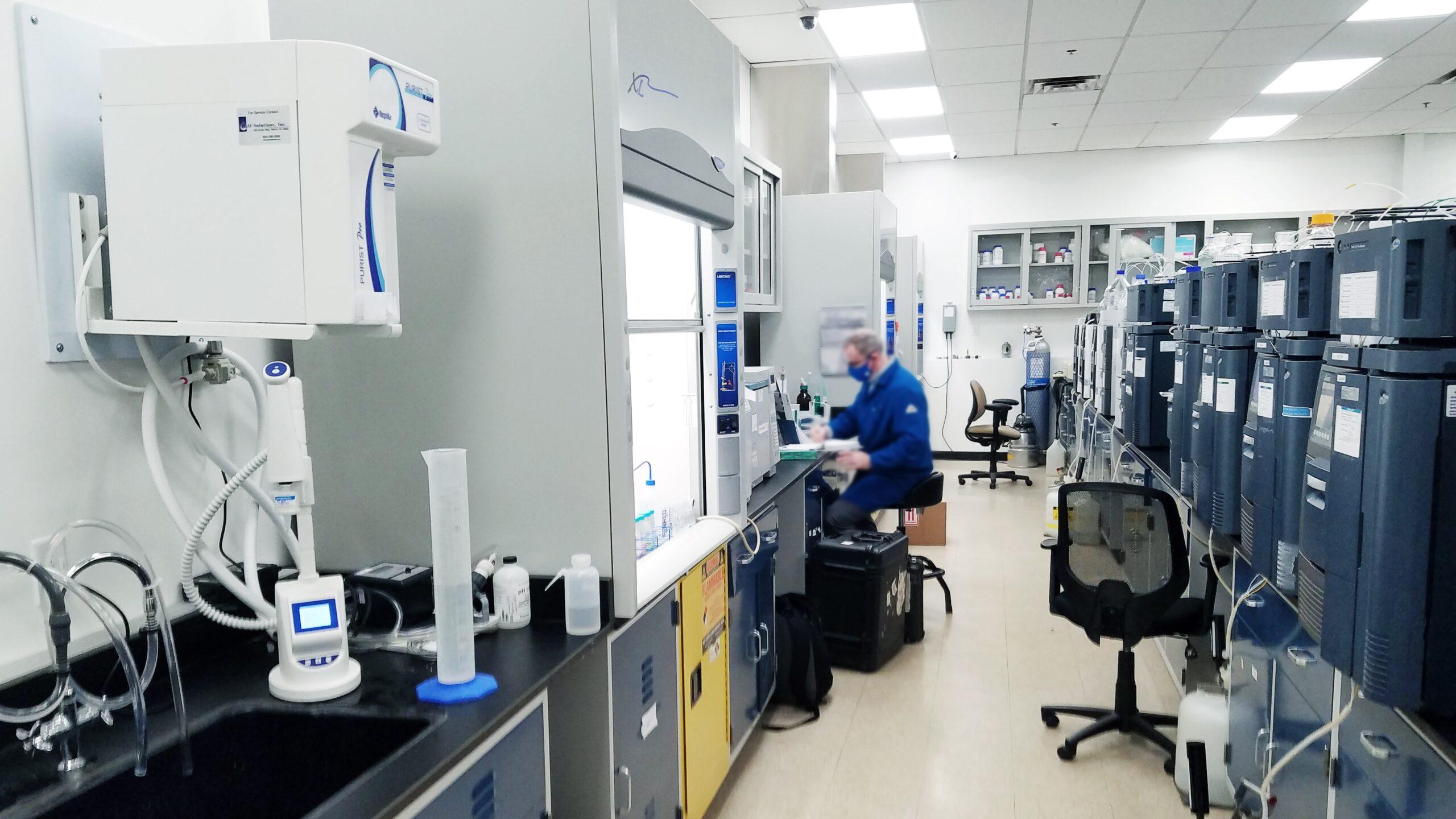 Laboratorier og renrum
